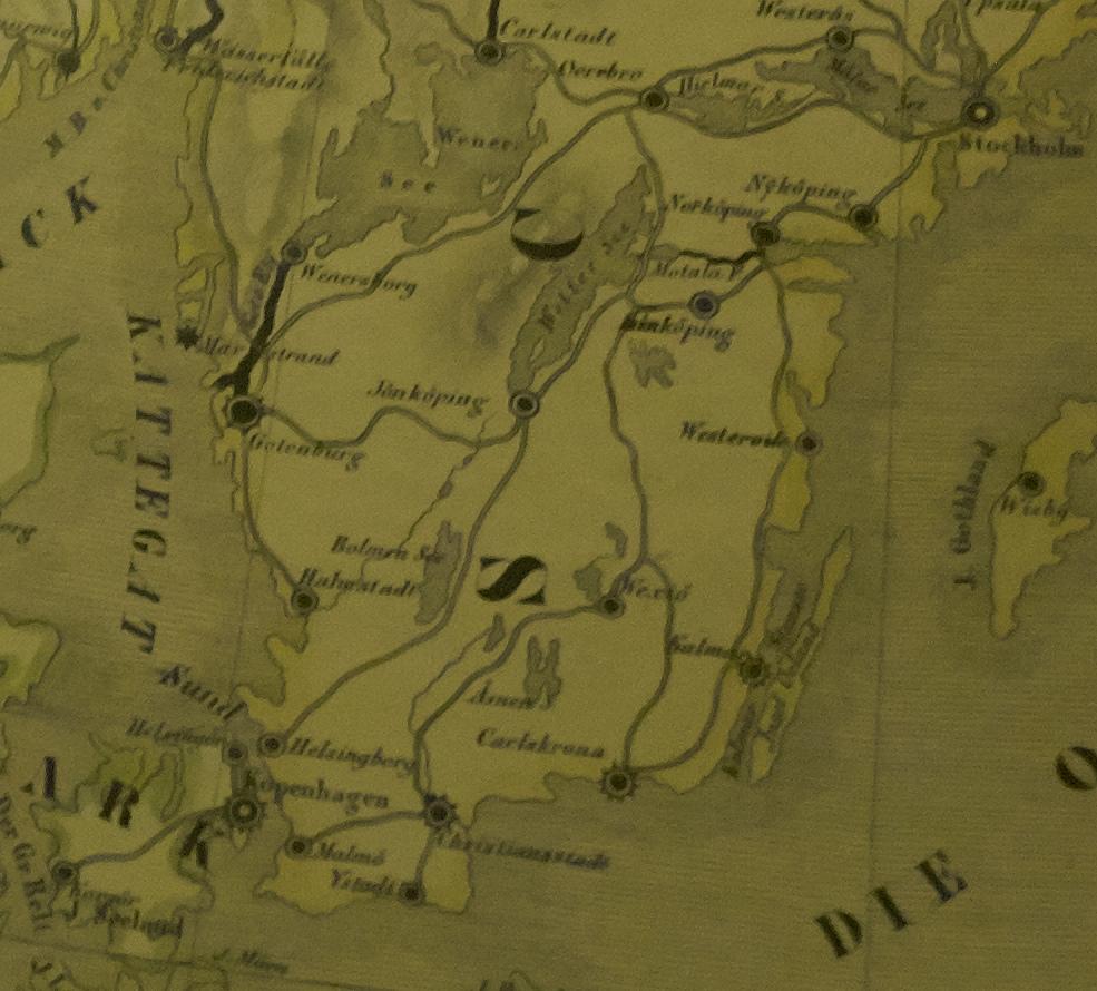 lödöse södra station karta